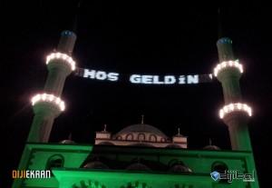 Hacı Hakkı Ekşi Camii Led'li Mahya ve Led'li Kandil Uygulaması