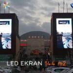 Via/port Outlet Alışveriş Merkezi LED Ekran