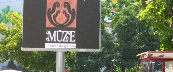 TURSAB Müze LED Ekranları