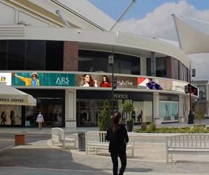 Vialand Tema Park AVM Kavisli LED Ekran